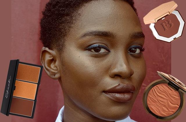 Je veux utiliser un bronzer sur ma peau noire, que faire ?