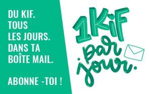 Abonne-toi à la nouvelle newsletter madmoiZelle:1 kif par jour!
