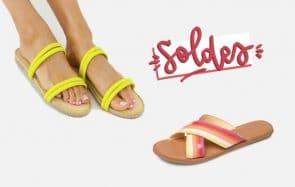 Dix paires de sandales et sneakers en soldes pour l'été