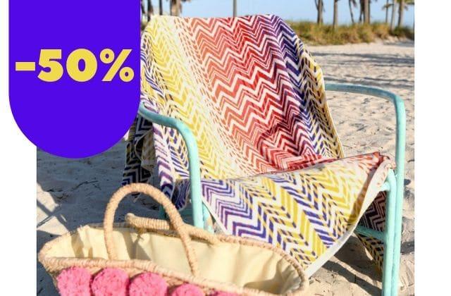 Bon plan du jour : ventes flash de serviettes de plage