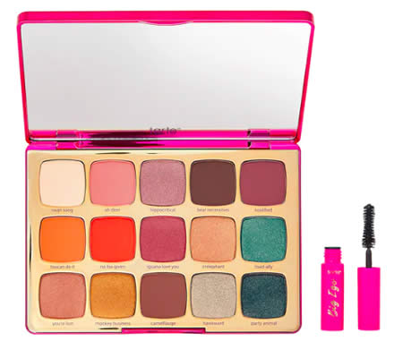 palette unleashed Tarte