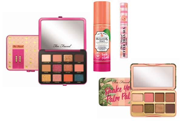 collection peaches and cream too faced