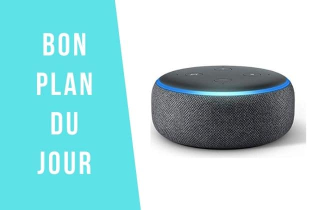 Bon plan:l'enceinte connectée Alexa à -63% !