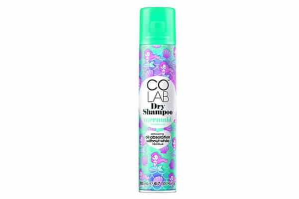 shampoing sec colab mermaid