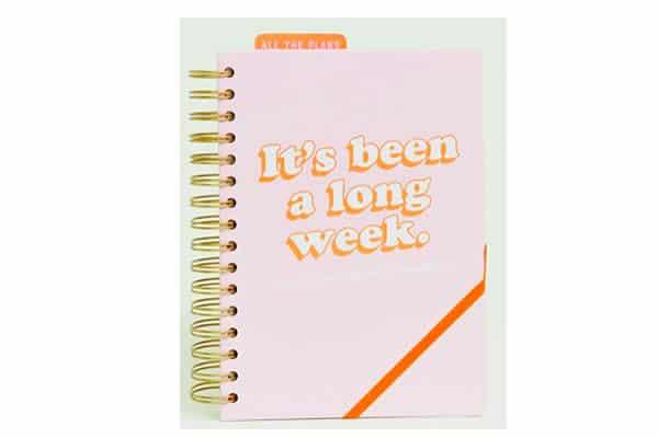 agenda it's been a long week