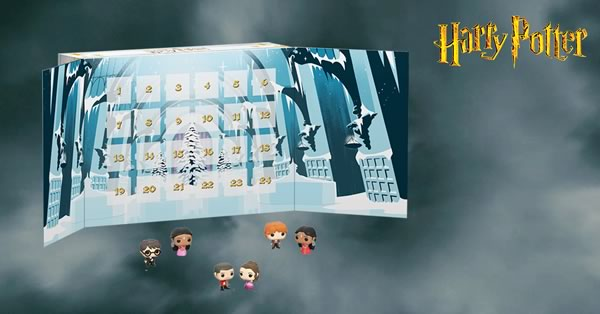 Calendrier De Lavent Harry Potter Funko Pop.Calendrier De L Avent Funko Pop Harry Potter Marvel Pour
