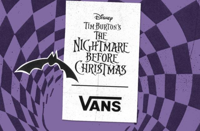 Vans annonce une collection L'Étrange Noël de Monsieur Jack