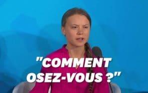 La colère de Greta Thunberg, et la réponse d'Emmanuel Macron