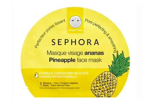 masque en tissu ananas sephora