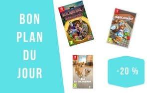 Bon plan du jour : -20% sur des jeux Nintendo Switch
