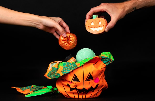 Lush collection Halloween 2019