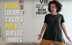 LouanneManShow te parle de ses poils à la piscine