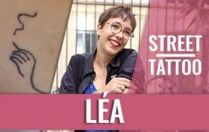 Léa, ses tatouages minimalistes et sa grand-mère