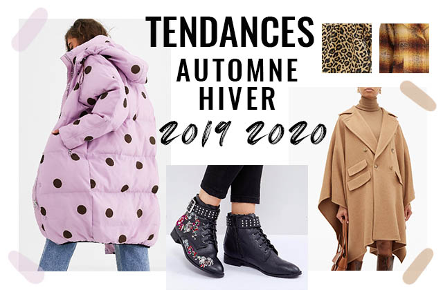 Les tendances mode de l\u0027automne/hiver 2019,2020 sur