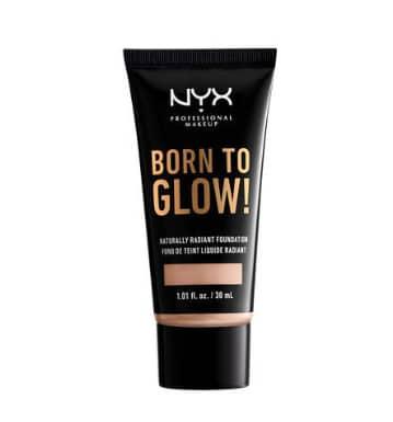 fond de teint lumineux born to glow NYX