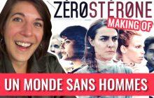 Je t'emmène sur le tournage de Zérostérone avec Marion Séclin !