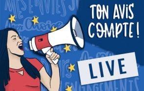 Les expériences européennes qui ont changé ta vie : en live ce lundi soir !