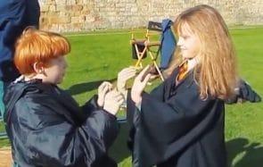 Des images inédites du tournage Harry Potter dévoilées (alerte mignonnerie)