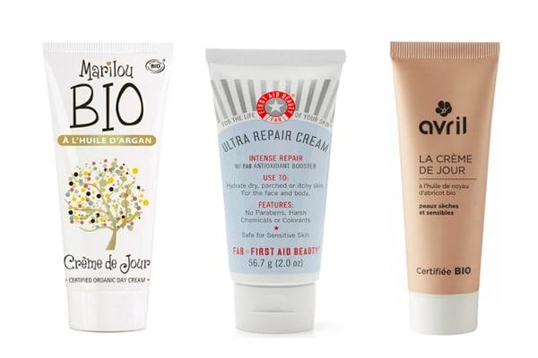 crème hydratante peau sèche