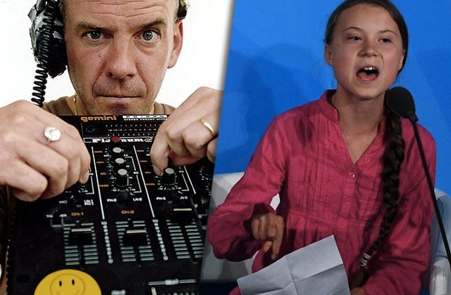 Fatboy Slim sample Greta Thunberg : il faut agir « right here, right now »