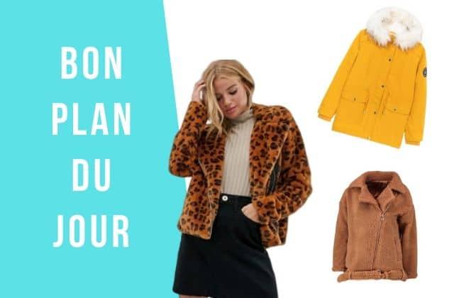 Bon plan du jour : des manteaux en promo !