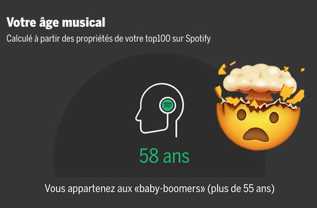 Ce dispositif détermine ton âge à partir de ta playlist Spotify
