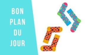 Bon plan du jour : HappySocks, des chaussettes originales en promo!