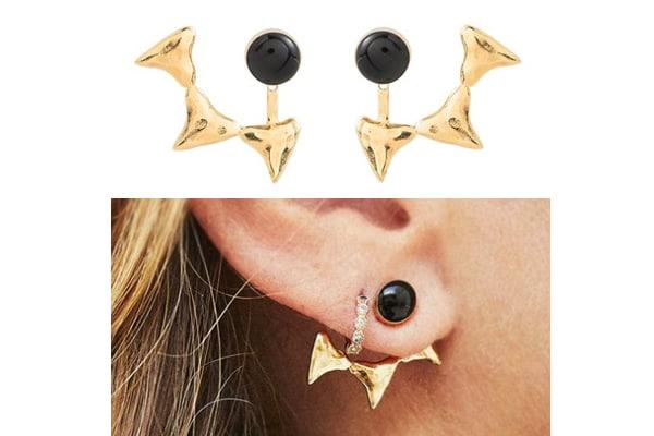 boucles d'oreilles bat