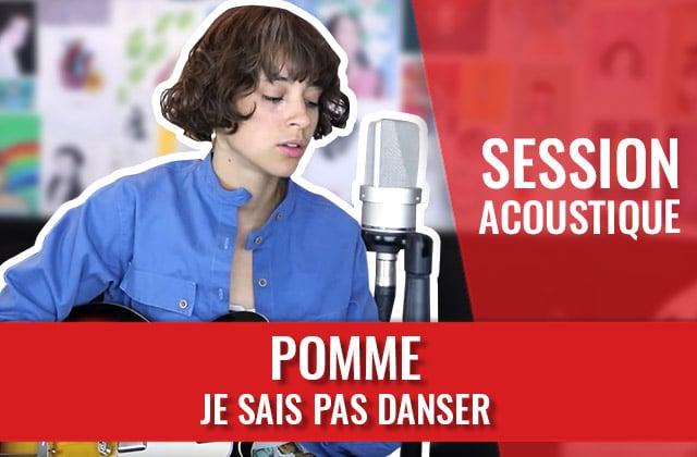 Pomme chante « Je sais pas danser », extrait de son nouvel album !