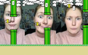 Tu peux jouer à Flappy Bird sur Insta avec… tes yeux!