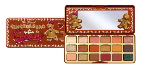 palette too faced gingerbread extra spicy