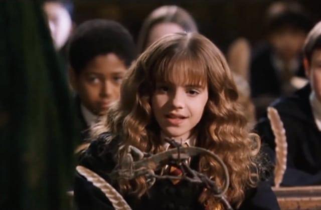 Emma Watson écrivait vraiment pendant les scènes de cours d'Harry Potter