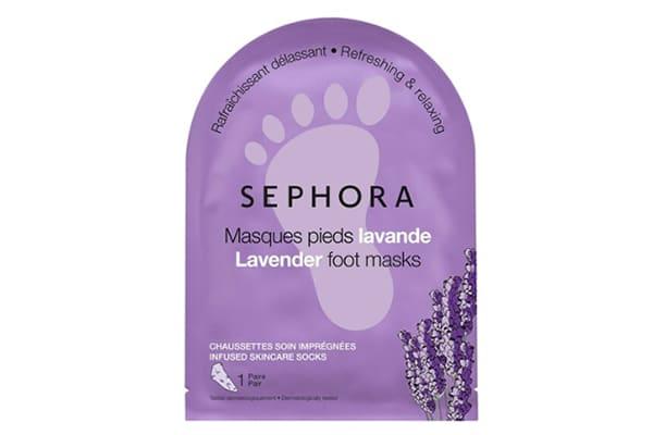 masque pieds sephora lavande