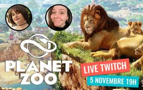 Mymy, Loulou & des pandas roux : on streame Planet Zoo ce 5/11 à 19h