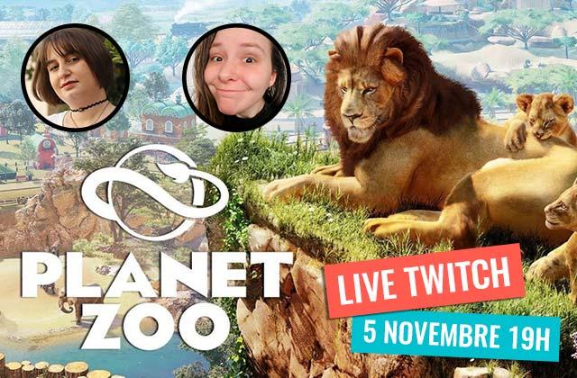 Mymy, Loulou & des pandas roux : on streame Planet Zoo ce 5/11 à 19h