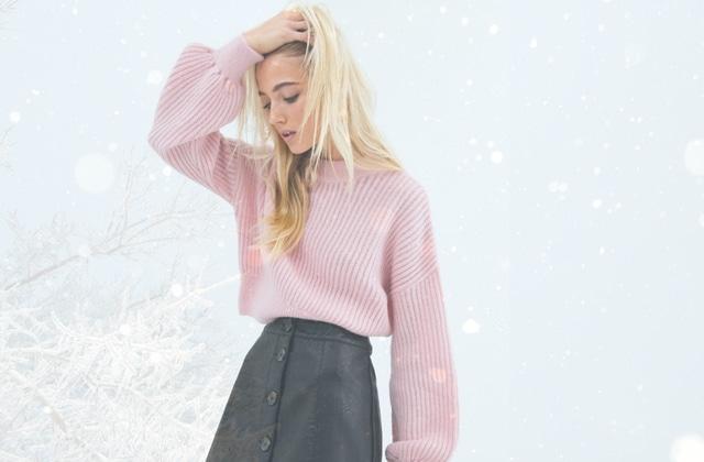 Comment rentrer un gros pull dans une jupe comme une pro ?