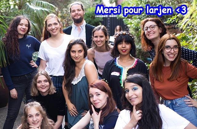 Encourage la liberté d'expression des femmes en soutenant les Internettes !