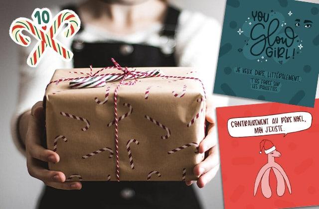 Tes étiquettes de Noël à imprimer sont là!