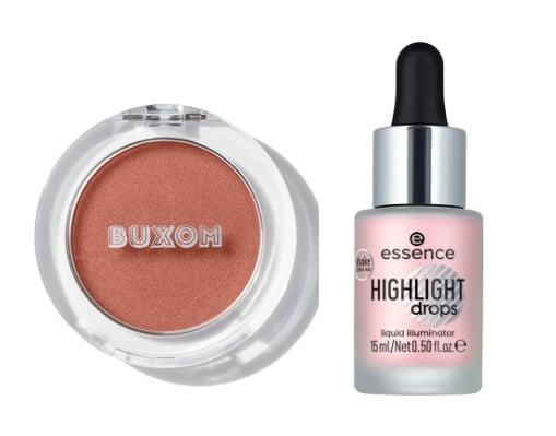 blush et highlighter Noël