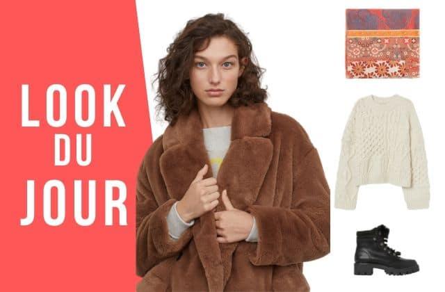 Look du jour : Une tenue parfaite pour le grand froid !