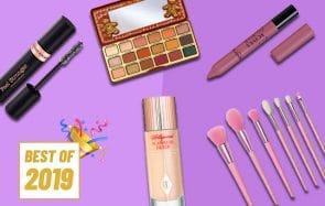 Mes produits maquillage préférés de l'année 2019