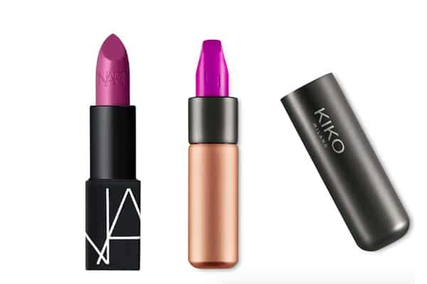 rouge à lèvres violet