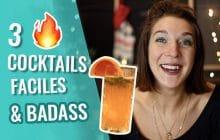 3 cocktails originaux inspirés des Charlie's Angels