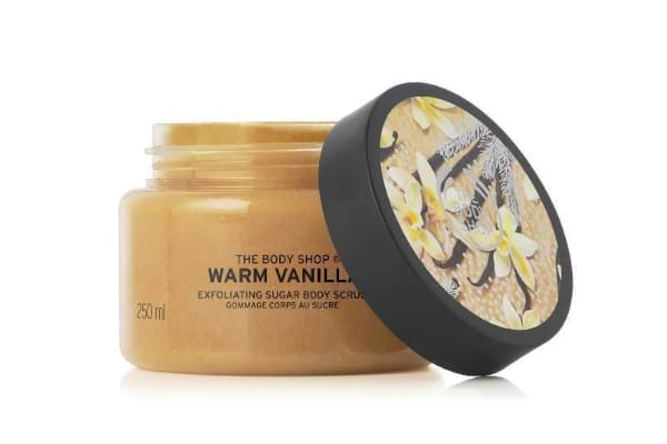 gommage sugar body scrub the body shop