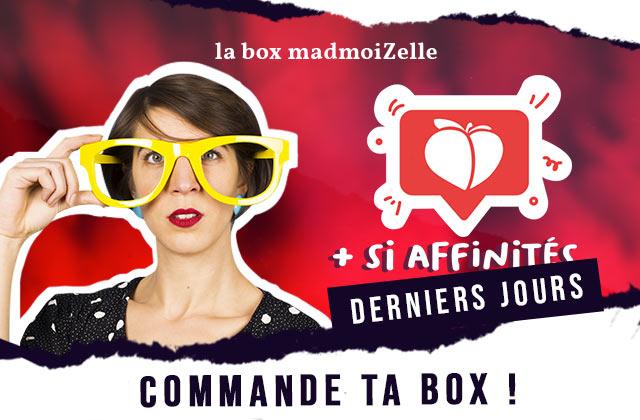 Dernier jour pour commander ta box madmoiZelle très hot, signée Queen Camille !