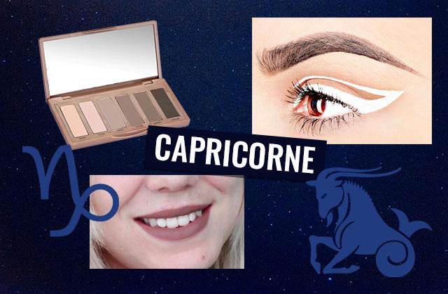 Adopte le maquillage de ton signe astro : le Capricorne !