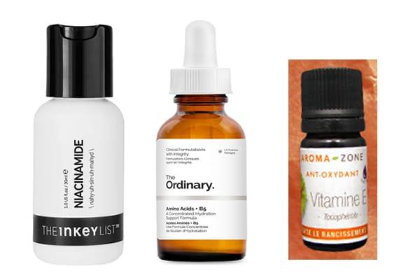 cosmétiques vitamines