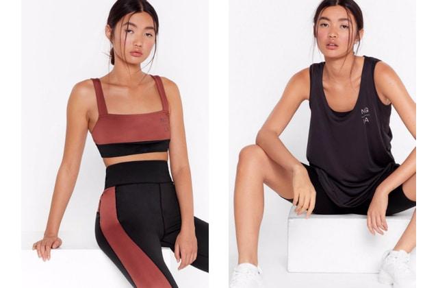 Nasty Gal sort une collection sportswear en matières recyclées