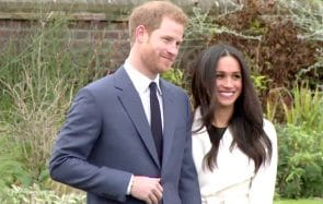 La reine d'Angleterre soutient Le Prince Harry et Meghan Markle