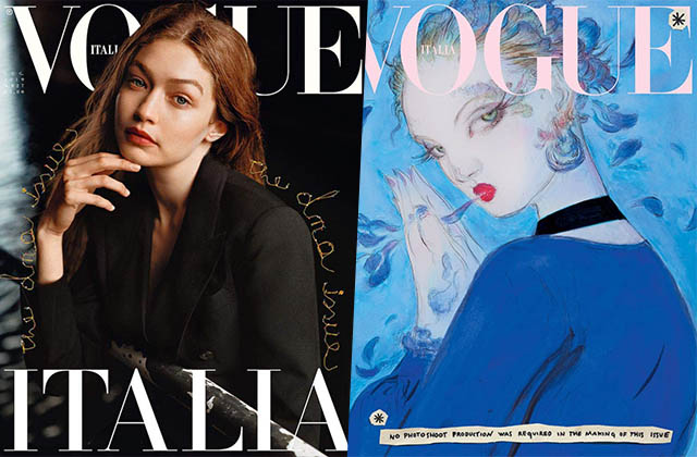Vogue Italia s'engage pour un magazine plus éco-responsable en 2020